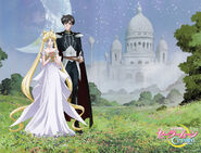 Princess Serenity and Prince Endymion - SM Crystal