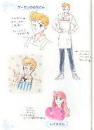 Motoki and Reika Concept Art