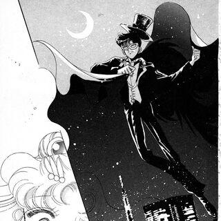 En su primera aparición en el manga.