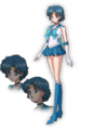 Sailor Mercury Crystal Design