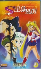 Sailor Moon Vol. 8 - French VHS