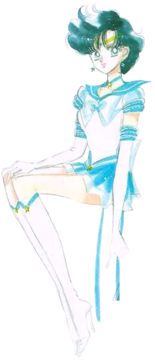 Ami Mizuno Sailor Mercury Eternal Form - Manga