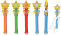 Star Power Henshin Sticks