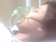 Risa Hino w szpitalu