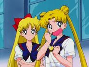 Usagi and minako stars