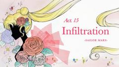 SMC; Act-15 Infiltration, Sailor Mars Ep-Title Card