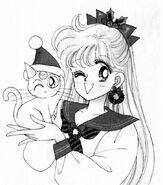 Minako and Artemis Christmas Theme