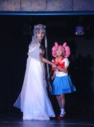 Neo Queen Serenity i Chibiusa