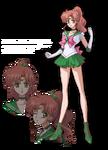 Sailor Jupiter Crystal Design