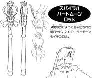 Spiral Heart Moon Rod Anime Design