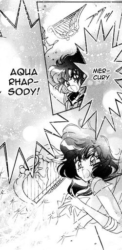 MercuryAquaRhapsody in the manga