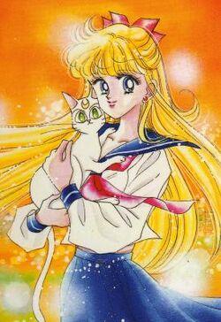 Minako Aino Manga