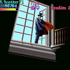 Tuxedo Mask en BS Sailor Moon Arcade