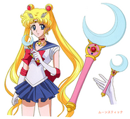 Sailor Moon i Moon Stick