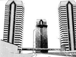 Wieżowce kondominium