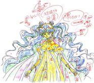 Queen Nehellenia Sketch