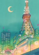 Tokyo Tower (pierwsze anime)