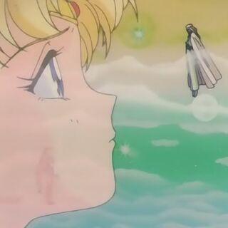 El Caballero habla con última vez con Sailor Moon