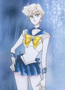 Sailor Uranus manga