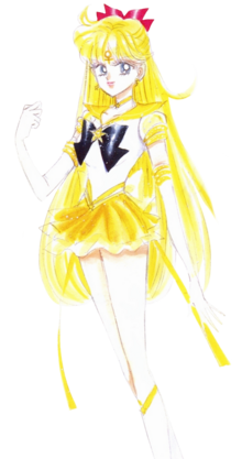 Minako Aino Sailor Venus Eternal Form - Manga