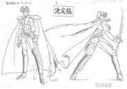 Prince Endymion Model Sheet