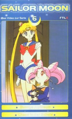 Sailor Moon Vol. 6 - German VHS