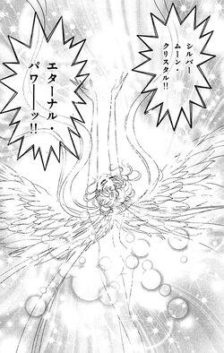 Silver Moon Crystal Eternal Power