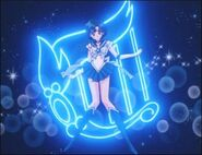 Sailor Mercury poses (background 3)