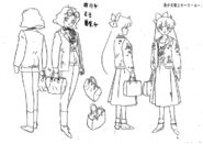 Minako Anime Design 24 and Mimi Anime Design