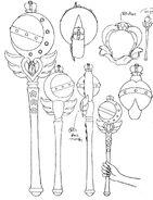 Cutie Moon Rod Anime Design