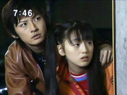 Mamoru i Usagi ukryci w kryjówce PGSM - act15