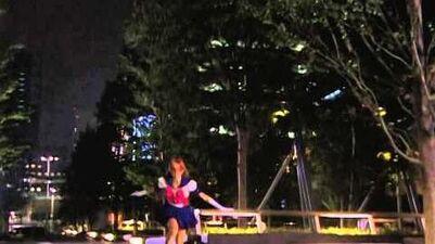 Sailor V Mikazuki Cutter LA