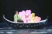 Ai no senshi - Usagi y Mamoru en el lago
