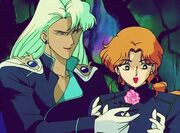 Kunzite gives Zoisite a rose