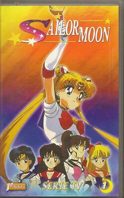 Sailor Moon Vol. 1 - French VHS