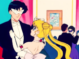 Romance Under the Moon! Usagi's First Kiss