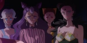 Siostry Ayakashi (Crystal)