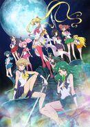 Sailor moon crystal infinity arc character art