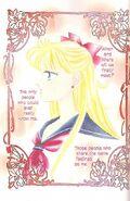 Minako in a color insert for volume 2