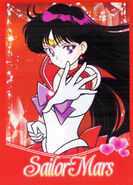 Sailor Mars Brazilian DVD Promo Card