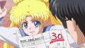 Usagi angry at Mamoru crystal