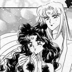 Luna y Artemis humanos