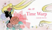 SMC; Act-19 Time Warp, Sailor Pluto Ep-Title Card