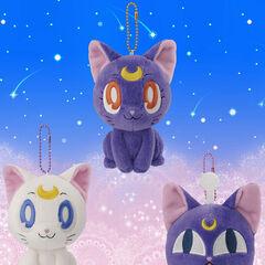 Peluches de Artemis, Luna y el peluche de Rini