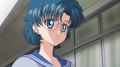 Ami overhearing Naru and Usagi