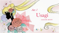SMC; Act-1 Usagi Sailor Moon Ep-Title Card