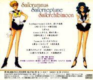 Uranus - Neptune - Chibi Moon - Plus Back Cover