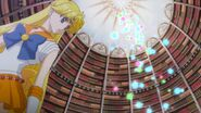 Sailor moon crystal act 22 venus stays in the libary