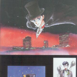 Imágenes de Tuxedo en el 1er artbook.