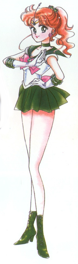 Sailor Jupiter Manga Infobox